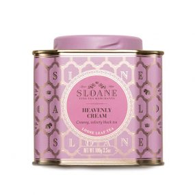 heavenly cream caddy from sloane tea