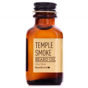 beardbrand temple smoke beard oil