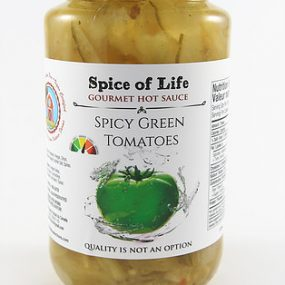 spice of life spicy green tomato