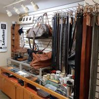 Leather Bags, belts and wallets