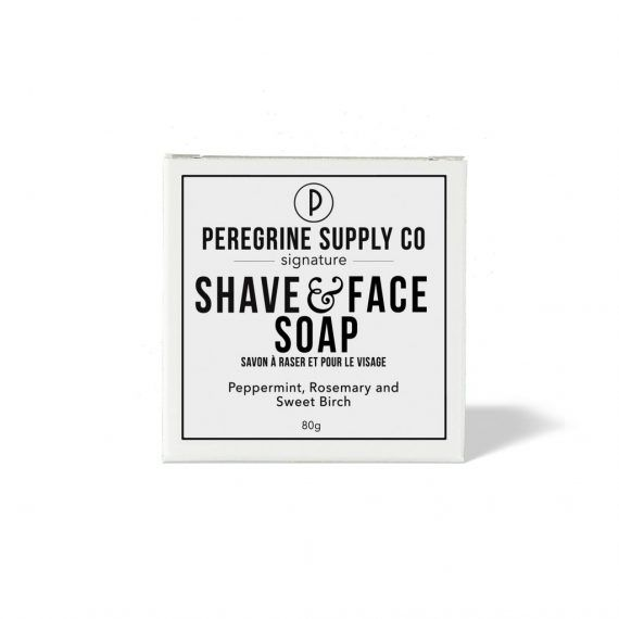 peregrine face and beard soap
